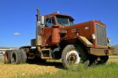 Peterbilt semi truck Stock Image