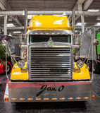 Peterbilt show truck Royalty Free Stock Photo