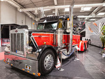Peterbilt show truck Stock Photography