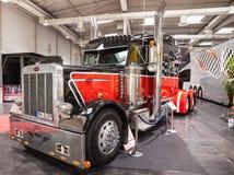 Peterbilt toont Vrachtwagen Stock Fotografie