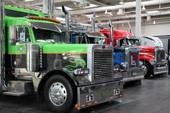Peterbilt Trucks Stock Image