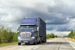 Peterbilt 387 Royalty Free Stock Images