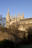 Peterborough Cathedral Royalty Free Stock Image