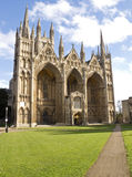 Peterborough Cathedral Stock Images