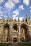 Peterborough Cathedral. In Cambridgeshire, England, United Kingdom Stock Image