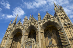 Peterborough Cathedral in the UK Royalty Free Stock Photos