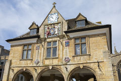 Peterborough Guildhall in het UK Royalty-vrije Stock Foto's