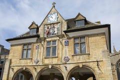 Peterborough Guildhall i UK Royaltyfria Foton