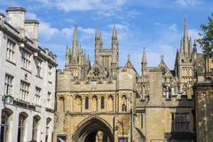 Peterborough i UK Arkivbild