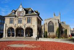 Peterborough-Innung Hall lizenzfreie stockfotos