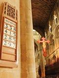 Peterborough-Kathedrale Lizenzfreies Stockfoto