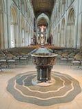 Peterborough-Kathedrale Stockbilder