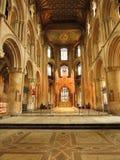 Peterborough-Kathedrale Stockfoto