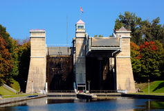 Peterborough Liftlocks Royalty Free Stock Photos
