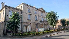 Peterborough muzeum zdjęcia royalty free