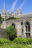 Peterboroughkathedraal in het UK Royalty-vrije Stock Fotografie