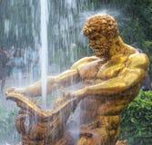 Petergof喷泉,圣彼德堡,俄国 免版税库存照片