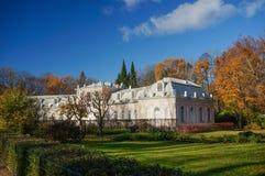 Petergof abaixa o parque Rússia foto de stock royalty free