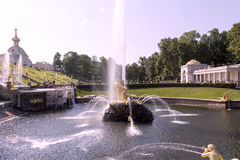 Petergof.Fountains. Stock Images