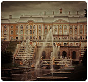 Petergof palace Royalty Free Stock Photo