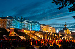Petergof palace in Russia Royalty Free Stock Photo