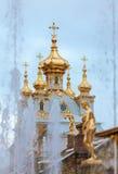 peterhof俄国 俄国国君的前住所 库存图片