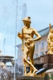 peterhof俄国 俄国国君的前住所 免版税库存图片