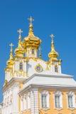Peterhof宫殿 免版税库存照片