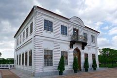 Peterhof宫殿 Marli宫殿 图库摄影
