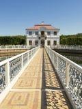 Peterhof,宫殿Marli 免版税图库摄影