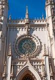 peterhof 俄国 哥特式教堂博物馆的片段 免版税库存照片