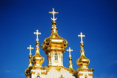 peterhof дворца части Стоковое Фото