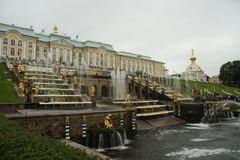 Peterhof Imagenes de archivo