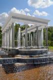 peterhof 3 фонтанов Стоковая Фотография
