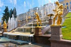 Peterhof 免版税图库摄影
