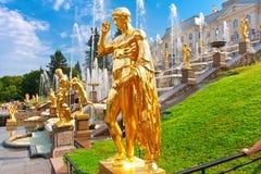 Peterhof 免版税库存图片