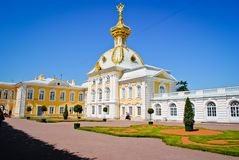peterhof Royaltyfria Bilder