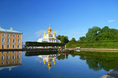Peterhof Imágenes de archivo libres de regalías