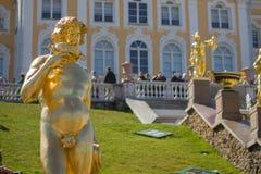 Peterhof Photos libres de droits
