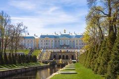 Peterhof Immagini Stock Libere da Diritti