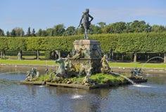 Peterhof, Brunnen Lizenzfreie Stockfotografie