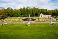 Peterhof, cascade grande Photographie stock