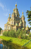 Peterhof, cathedral of St. Peter and St. Paul Stock Photography