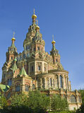 Peterhof, cathedral of St. Peter and St. Paul Royalty Free Stock Photography