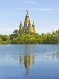 Peterhof, cathedral of St. Peter and St. Pavel Royalty Free Stock Photo