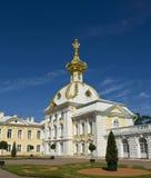 Peterhof, church of St. Peter and Paul Royalty Free Stock Photo