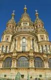 Peterhof domkyrka av St Peter och St Paul Royaltyfria Bilder