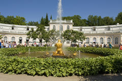 Peterhof, fountain Triton Stock Photography