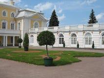 Peterhof, The Gгаnd Palace. Upper garden Saint-Petersburg, Russia royalty free stock photos