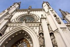 peterhof gothique de stationnement de chapelle de l'Alexandrie Photo stock